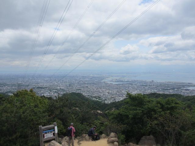 六甲山2012春(その1 芦屋川駅~風吹岩編) 風吹岩3