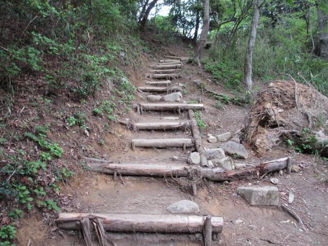 六甲山2012春(その2 風吹岩 ~最高峰編) 雨ケ峠まで20