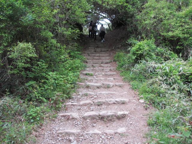六甲山2012春(その2 風吹岩 ~最高峰編) 一軒茶屋まで6