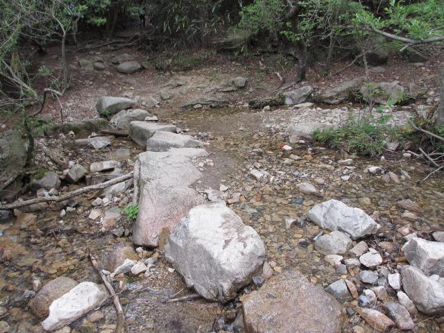 六甲山2012春(その2 風吹岩 ~最高峰編) 一軒茶屋まで9