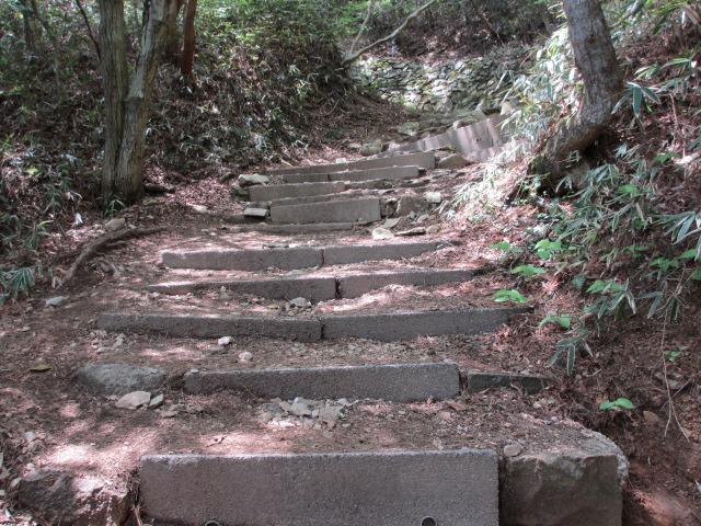 六甲山2012春(その2 風吹岩 ~最高峰編) 一軒茶屋まで12