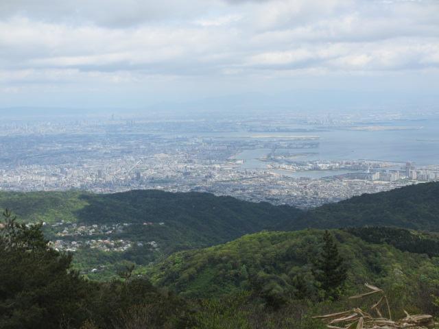 六甲山2012春(その2 風吹岩 ~最高峰編) 最高峰まで3