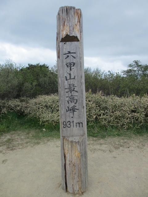 六甲山2012春(その2 風吹岩 ~最高峰編) 最高峰2