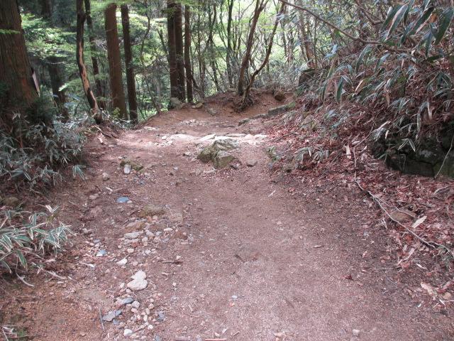 六甲山2012春(その3 最高峰~有馬温泉編) 有馬稲荷神社近道まで5