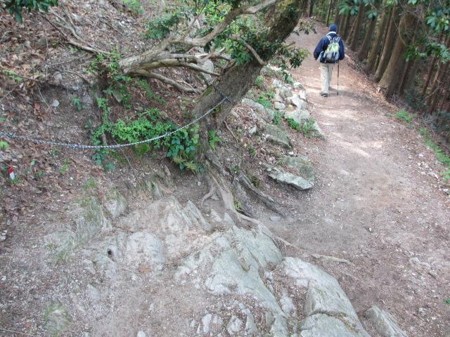 六甲山2012春(その3 最高峰~有馬温泉編) 有馬稲荷神社近道まで9