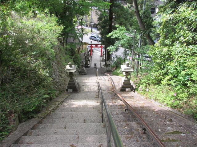 六甲山2012春(その3 最高峰~有馬温泉編) 有馬稲荷神社まで9