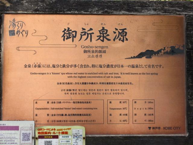 六甲山2012春(その3 最高峰~有馬温泉編) 御所泉源2