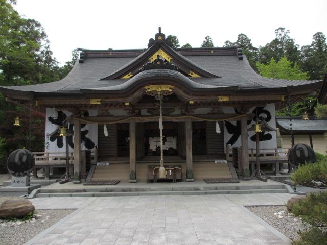 熊野本宮大社 拝殿4