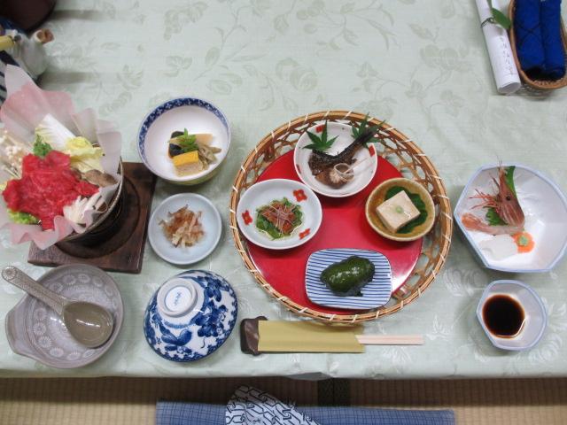 温泉民宿こぶち 夕食