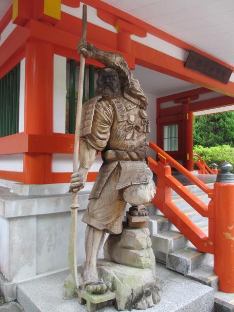 熊野速玉大社 武蔵坊弁慶の像