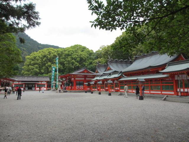 熊野速玉大社 御神門の中