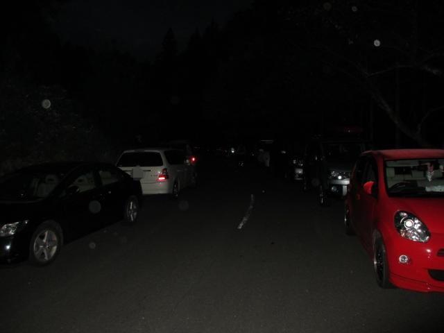 立雲峡 駐車場まで