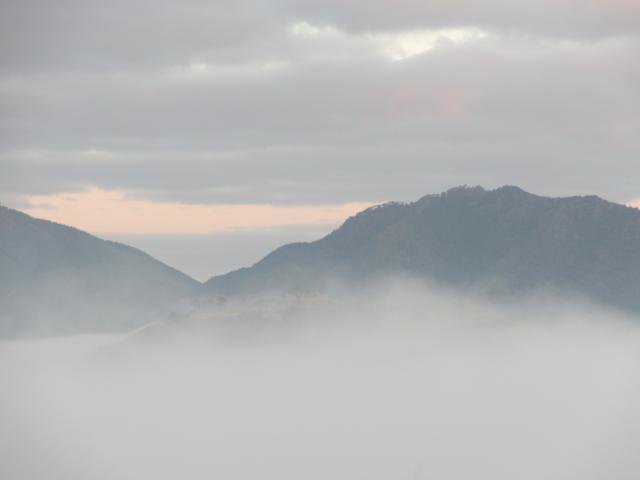 立雲峡から竹田城跡3