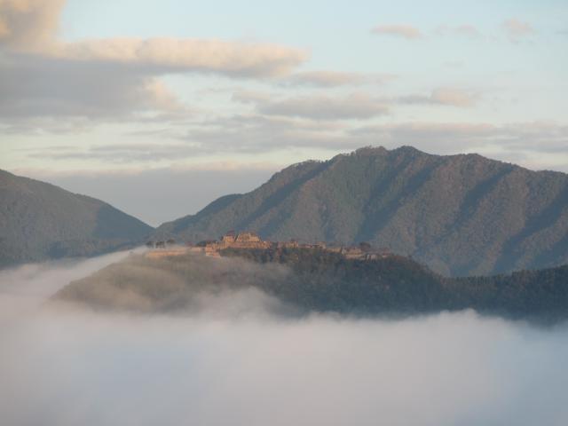 立雲峡から竹田城跡4