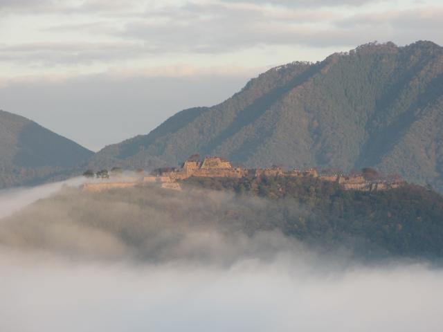 立雲峡から竹田城跡5