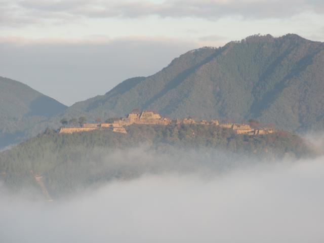 立雲峡から竹田城跡7