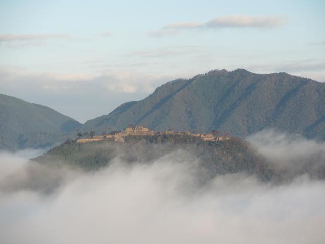 立雲峡から竹田城跡8