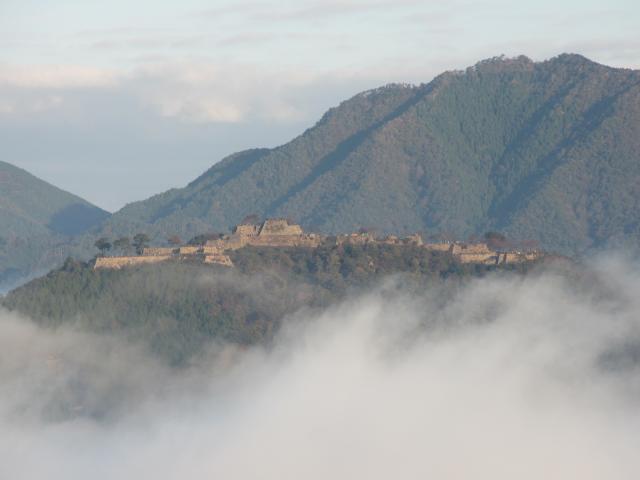 立雲峡から竹田城跡9