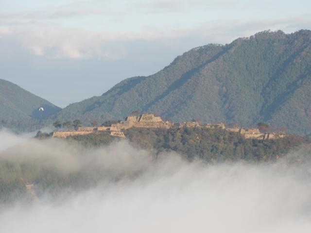立雲峡から竹田城跡10