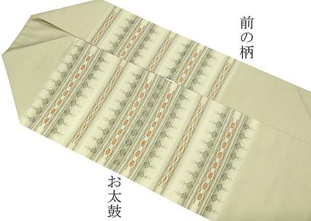 琉球花織名古屋帯