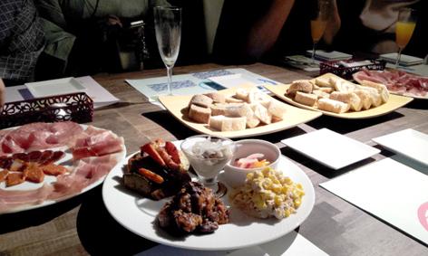 美味しいスペイン料理の数々