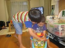 610 孫2人 ブログ