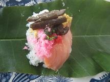 618 朴葉寿司2 ブログ