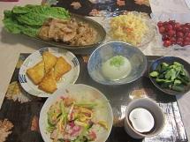 710 夕飯 ブログ