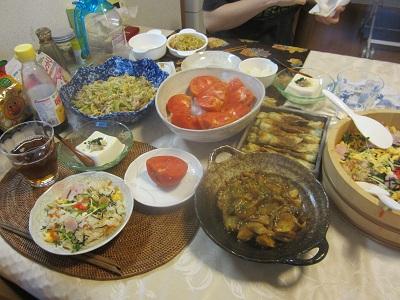 811 夕食 献立 ブログ