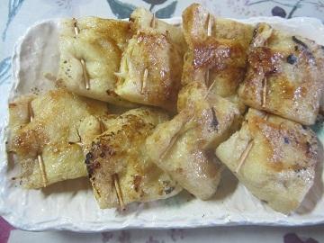 811野菜・チーズ油揚げ詰め ブログ