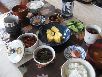 902 朝食1 ブログ