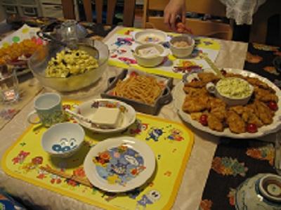 909夕食 ブログ