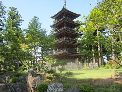913 妙宣寺 五重の塔 ブログ