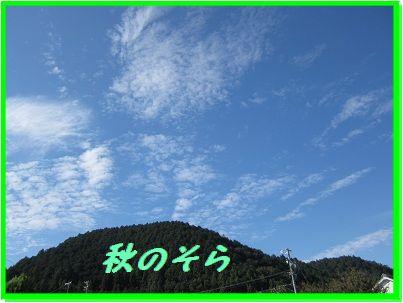 1002秋の空 ブログ