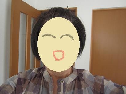 1013 髪の毛うっとうしい~ ブログ