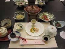 1120 第3ホテル 夕食 ブログ