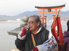1212 宮島4 百合子さん ブログ
