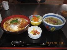 108かつ丼ランチ ブログ