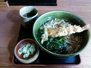118 天ぷら蕎麦 ブログ