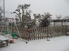 雪の庭2 ブログ