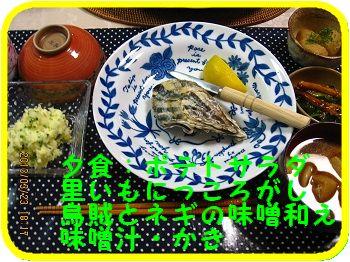 324 夕食 ブログ
