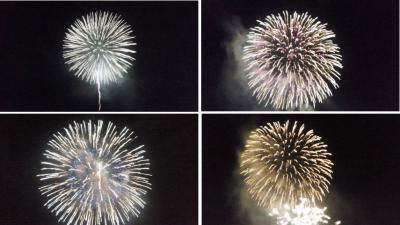 奄美祭り花火1