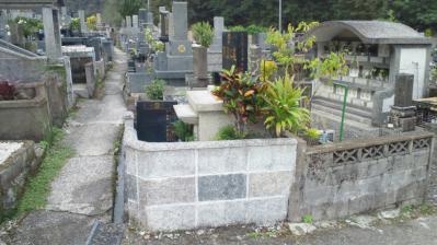 お墓参り2