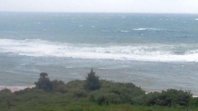 台風7号通過中2