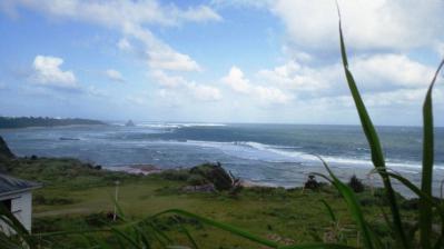 台風10号接近中1