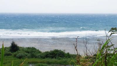 台風11号通過中3