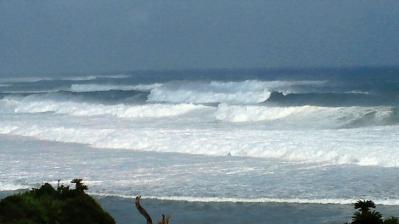 台風15号接近中2