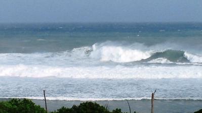 台風15号接近中3
