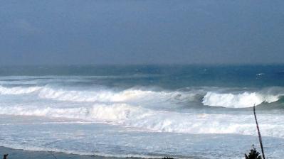 台風15号接近中4
