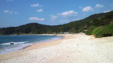 波穏やかな鯨浜1